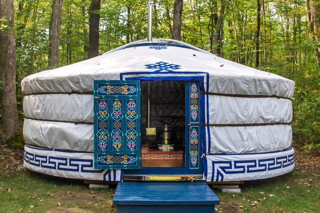 yurt verhuur SUP & Beach